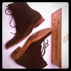 c6bc92cfdc13 Peter Nappi Shoes | Julius Boot Nero Kudu Leather | Poshmark